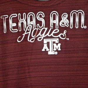 Champion Shirts & Tops - Texas A&M Aggies Girls Scoop Neck & Racerback Tank